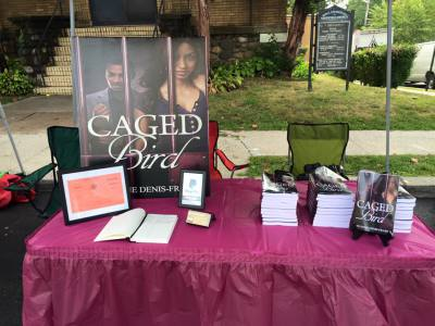 Caged Bird Book Signing at the Nyack SeptemberFest Street Fair